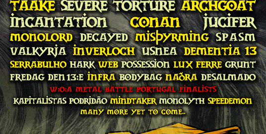 SWR BARROSELAS METALFEST close band billing for the main stages