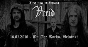 Preview: VREID for the first time in Finland @ On the Rocks