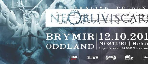 PREVIEW: Ne Obliviscaris, Brymir, Oddland at Nosturi, Helsinki