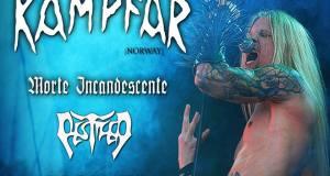 Preview: Kampfar + Morte Incandescente + Pestifer at RCA Club