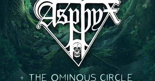 Preview: Asphyx + The Ominous Circle + Besta – May 27th at RCA Lisboa
