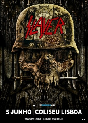 Slayer Coliseu Lisboa