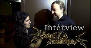 [Video] Angelus Apatrida interview @ Mosher Fest