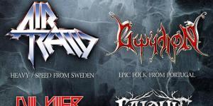 Preview: Skyforger + Air Raid + Gwydion + Evil Killer + Salduie – October 14th @ RCA Club