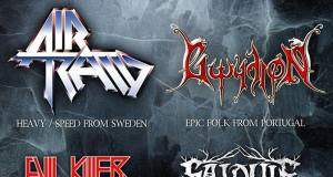 Preview: Skyforger + Air Raid + Gwydion + Evil Killer + Salduie – October 14th @ RCA Club