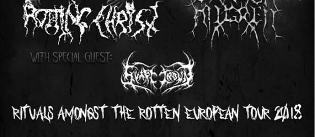 Preview: Rotting Christ + Carach Angren + Svart Crown @ Portugal