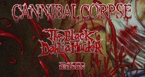 Preview: Cannibal Corpse + The Black Dahlia Murder + No Return @ VEGA, Copenhagen