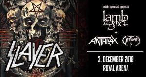 Report: Slayer + Lamb of God, Anthrax & Obituary @ Royal Arena Copenhagen