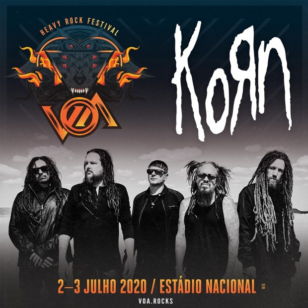 Korn and Bring Me The Horizon confirmed for VOA Heavy Rock Festival 2020