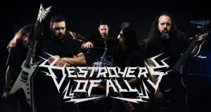 "Destroyers Of All premiere new video ""Hellfall"""