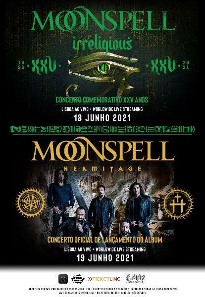 Moonspell LAV 2021