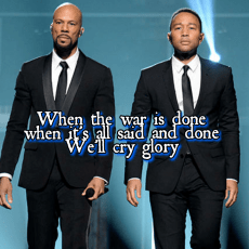 John Legend and Common Oscar 2015