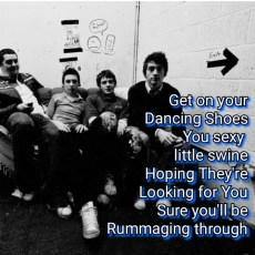 Arctic Monkeys Dancing Shoes