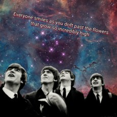 LUCY IN THE SKY WITH DIAMONDS THE BEATLES