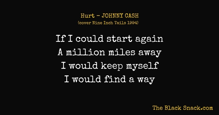 Citazione HURT JOHNNY CASH NINE INCH TAILS testo featured image blog thumbnail