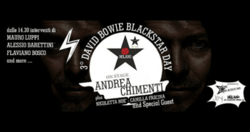 Sbarca a Milano il 3° David Bowie Blackstar Day