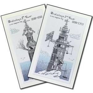 Lighthouse Blackwork Kits