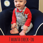 Liam – 7 month check-in