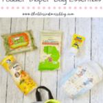 5 Toddler Diaper Bag Essentials
