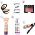 Summer 2017 Beauty Favorites