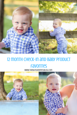 LIAM 12 MONTH CHECK-IN AND BABY PRODUCT FAVORITES