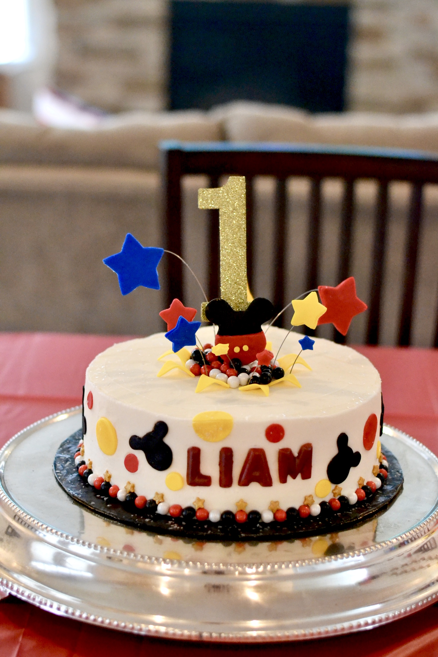 Liam's Mickey Mouse 1st Birthday Party - Mickey Mouse Clubhouse Party - Mickey Mouse Party - The Blessed Mess - www.theblessedmessblog.com
