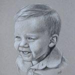 Caleigh Bird Portrait Art