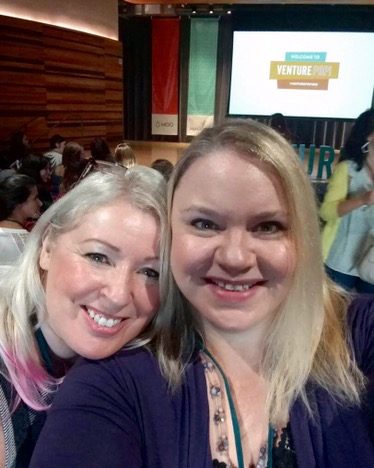 Michelle and Nicole at VenturePOP 2016