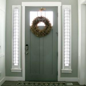 Front Door Sidelight Shutters