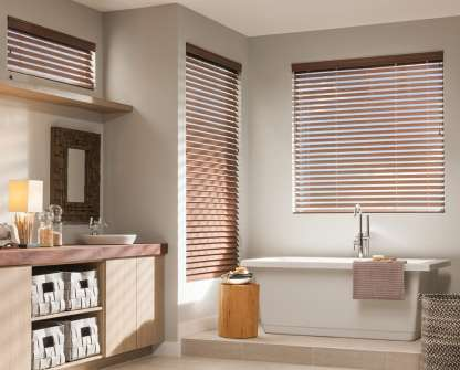 Wood Blinds Aria Faux Wood Blinds