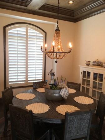 shutter dining room