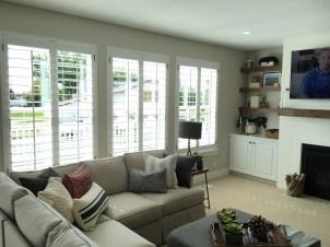 shutter family room bright