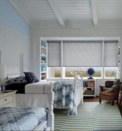 HD Sonnette Textura Stainless Steel shades for Kids Rooms