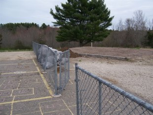 The chainlink fence