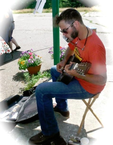 Music at the Farmers' Market