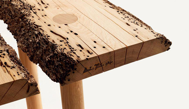 Old Wood Design Reclaimed Material Is Going Raw Design
