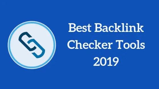 Backlink checker tools