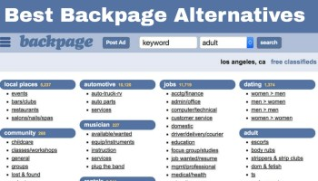 Backpage sites better than Sex workers