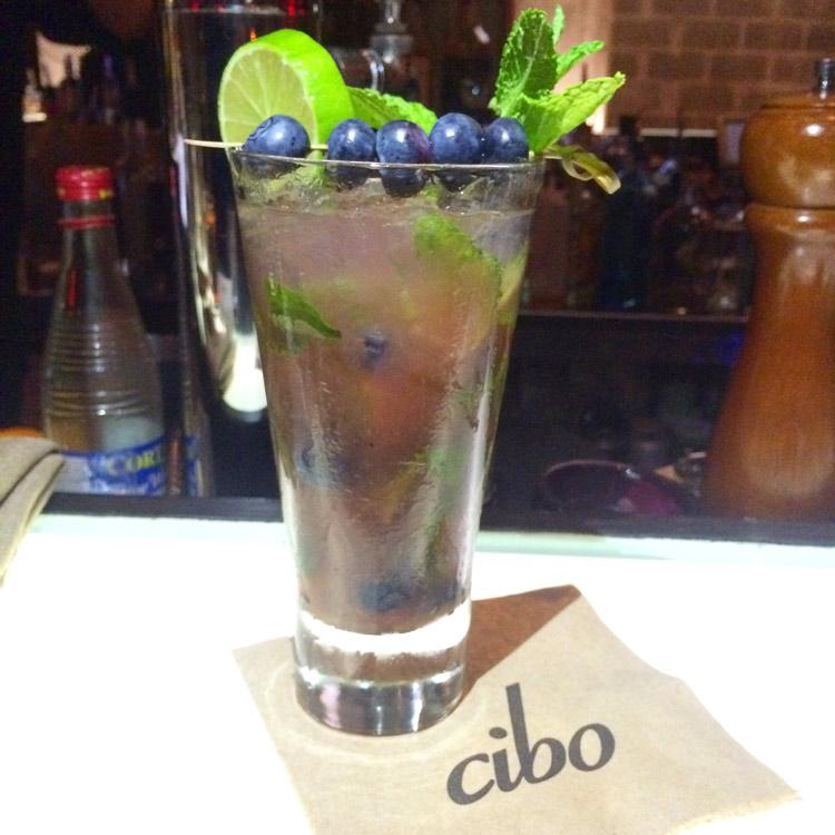 Cibo-Wine-Bluebery-Mojito