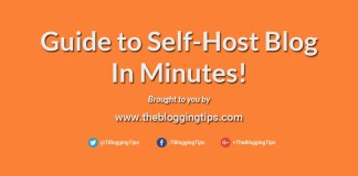 Guide to self host my wordpress blog in minutes