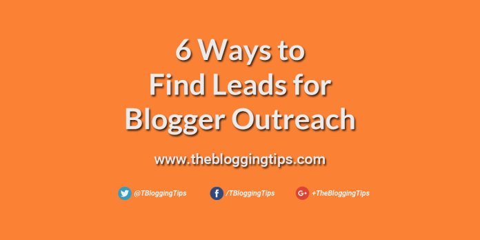 ways-to-find-leads-for-blogger-outreach