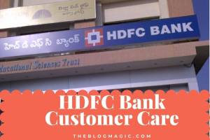 HDFC Customer Care