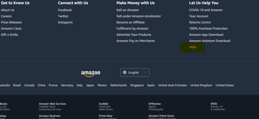 Amazon-Help