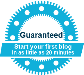 Simple steps to help you create a blog easily