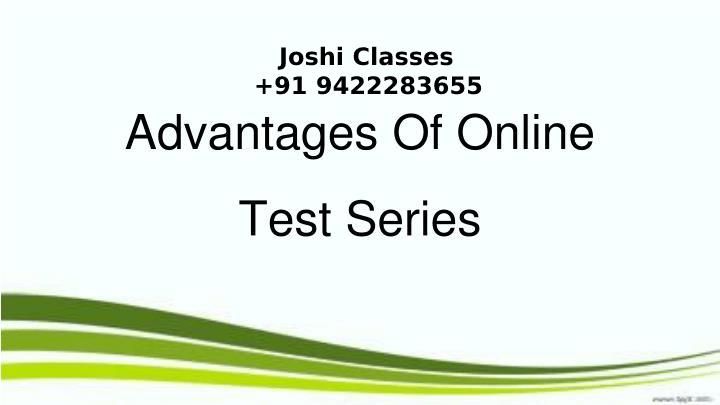 Online Test Series In Maharashtra