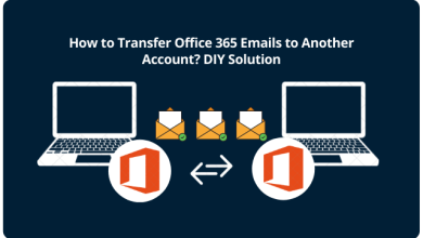 move emails from one account to another in Office 365
