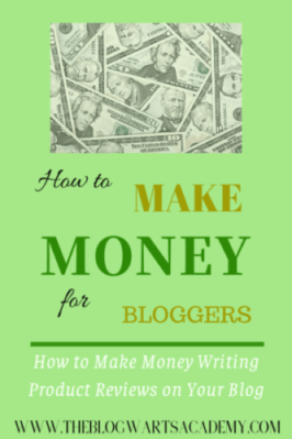 How to Make Money Writing Product Reviews on Your Blog. Make money blogging.