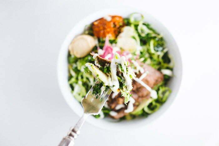 Mediterranean Super Green Salad