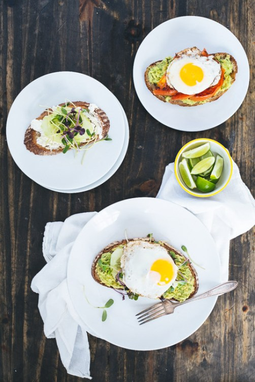 Roasted Tomato and Avocado Toast