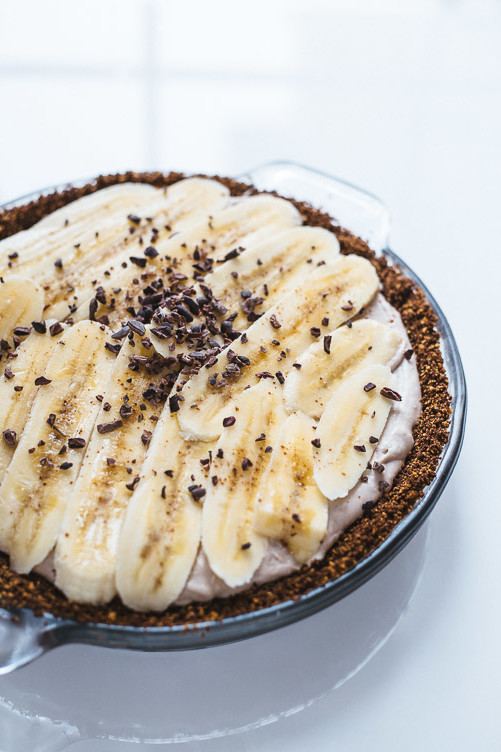 Banana Cream Pie (Vegan + Gluten-Free)